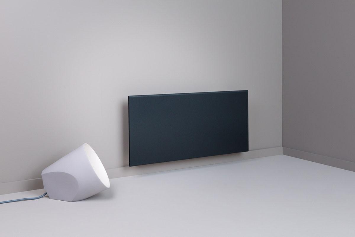 Adax Wifi elektromos fűtés, fűtőpanel gyöngyház fekete színben