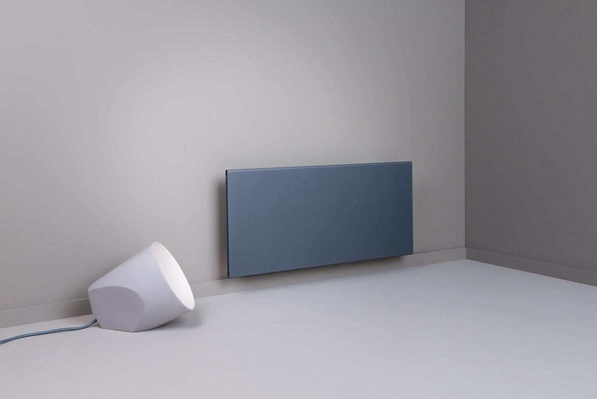 Adax Wifi elektromos fűtés gránitszürke színben