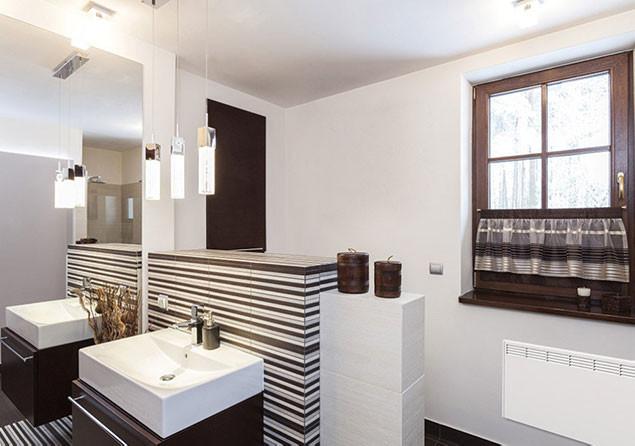 Beha nordart fűtőpanel fürdőszobába, wc-be
