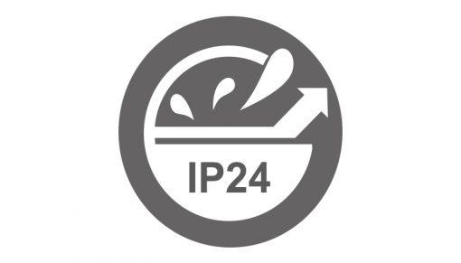 fűtőpanel fürdőszobába, kettős szigeteléssel, ip24 védelemmel