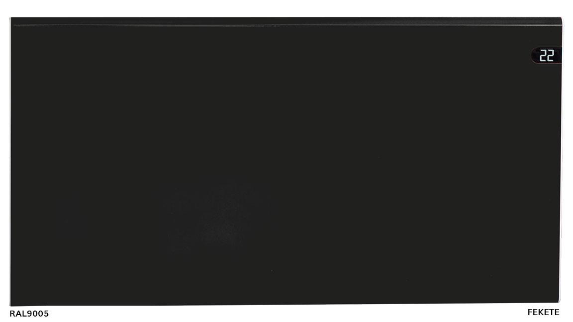 Adax neo elektromos fűtés fekete színben