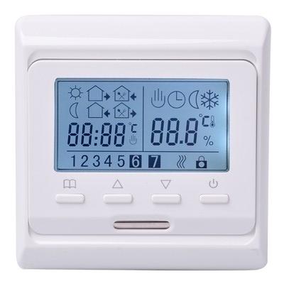 Digitális programozható elektromos padlófűtés termosztát