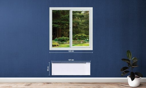 Glamox fűtőpanel digitális termosztát