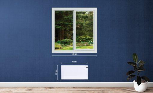 adax neo norvég 600W-os elektromos fűtés,radiátor vagy fűtőpanel