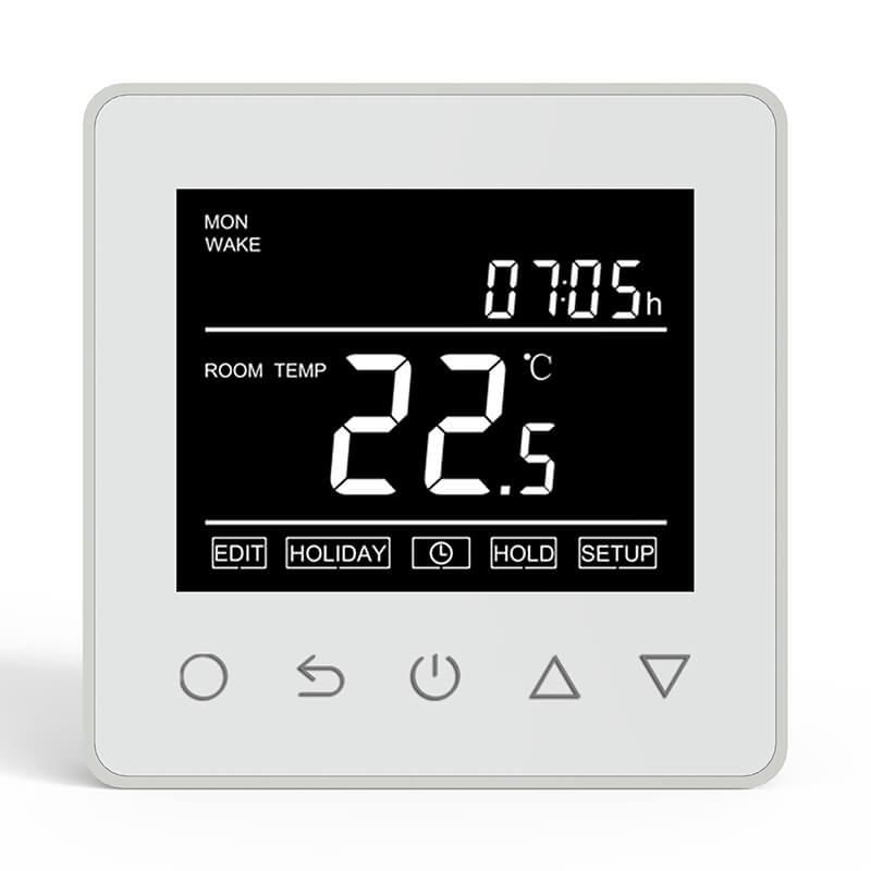 Elektromos padlófűtés termosztát két érzékelővel